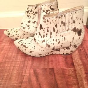 Matisse Free People Pony Hair Booties Boots